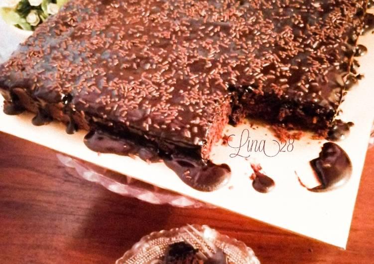 Brownies Coklat Leleh