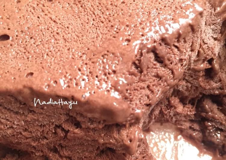 Resep Homemade Chocolate Ice Cream Es Krim Coklat Walls Kw