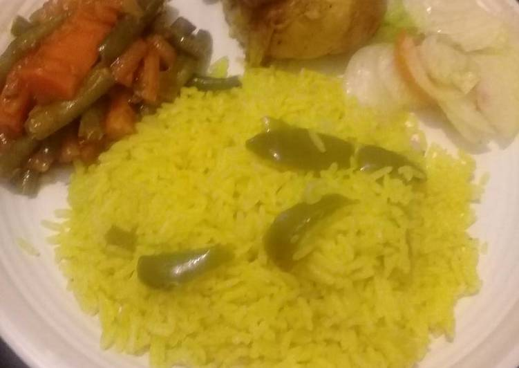 Easiest Way to Make Perfect Hot chakalaka with rice
