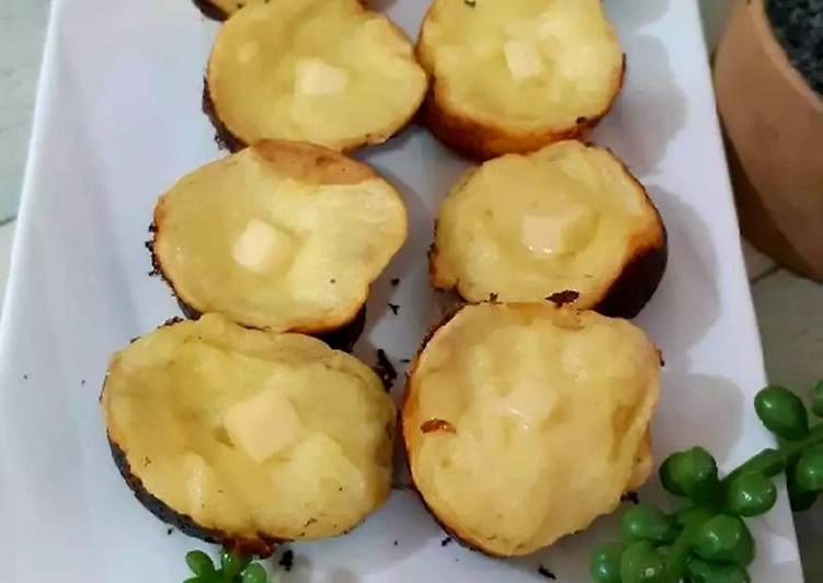 Kue Lumpur Kentang Mini - cookandrecipe.com