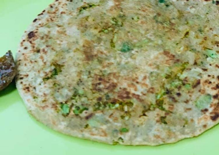 Foods That Make You Happy Broccoli Parantha