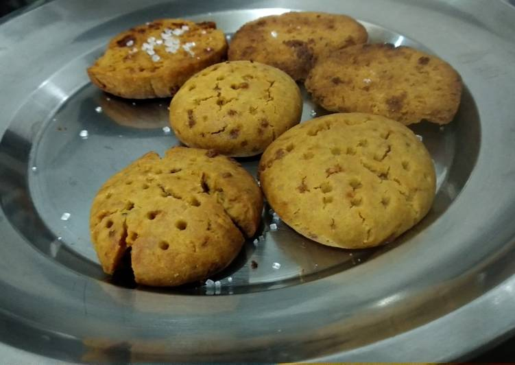Steps to Prepare Perfect Wheat biscuits