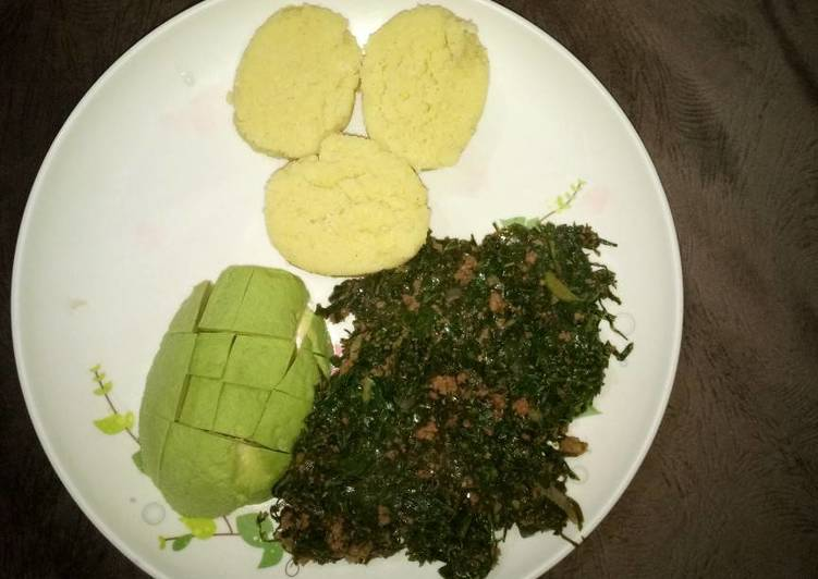 Ugali and Kale