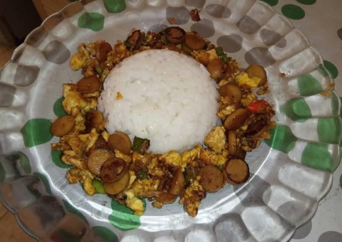 Nasi Gila Ala Qila_Kitchen