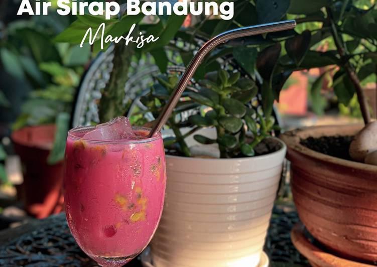 Air Sirap Bandung Markisa - resepipouler.com