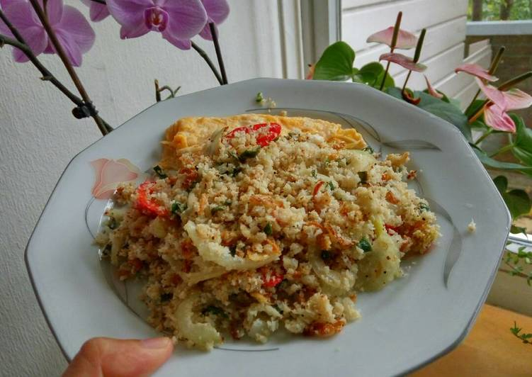 Resep Nasi Goreng 100% Brokoli- Tanpa Nasi #lowcarb# Bikin Jadi Laper