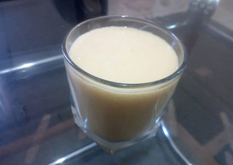Mango and orange smoothie #mykidsfavouritedishcontest
