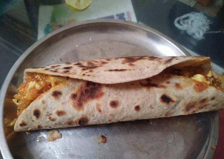 20 Minute Dinner Easy Summer Leftover Chapati Frankie