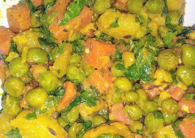 Simple mix veg sabji
