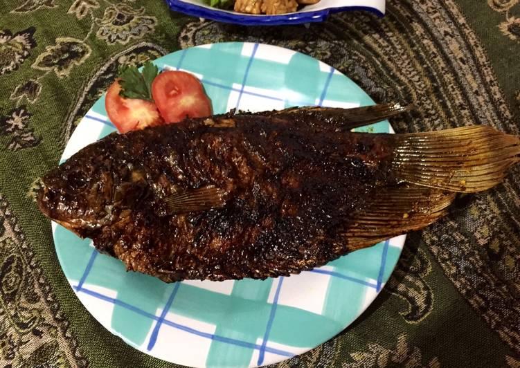 Ikan gurami bakar lezaaat