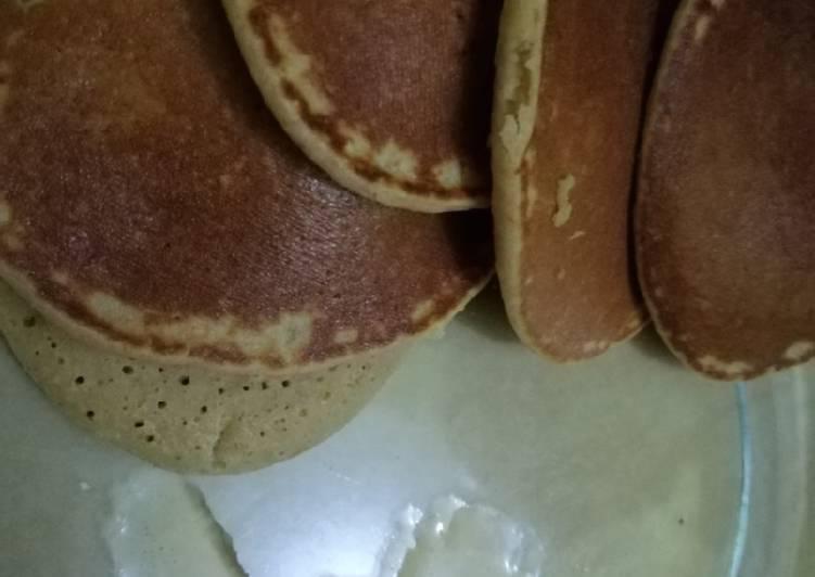 Resep Ide sarapan: Pancake Oatmeal Low Fat Paling Joss