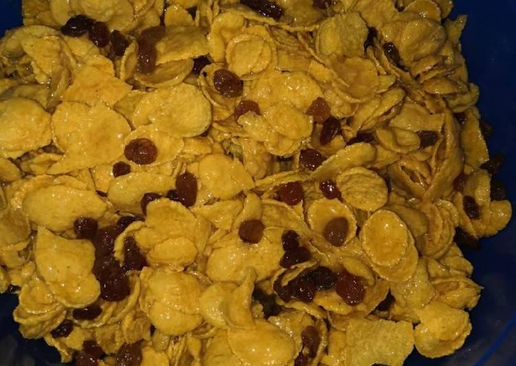 Cornflakes Madu 🌽 | Cemilan Sehat