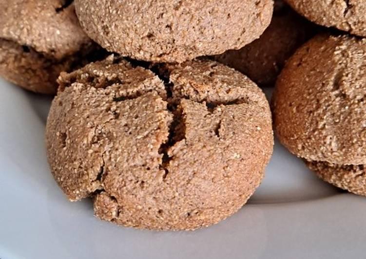 Biscuits de polenta au chocolat 🍫