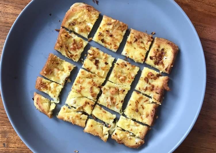 Resep Makanan Anak Roti Telur Rasa Bawang Favorit