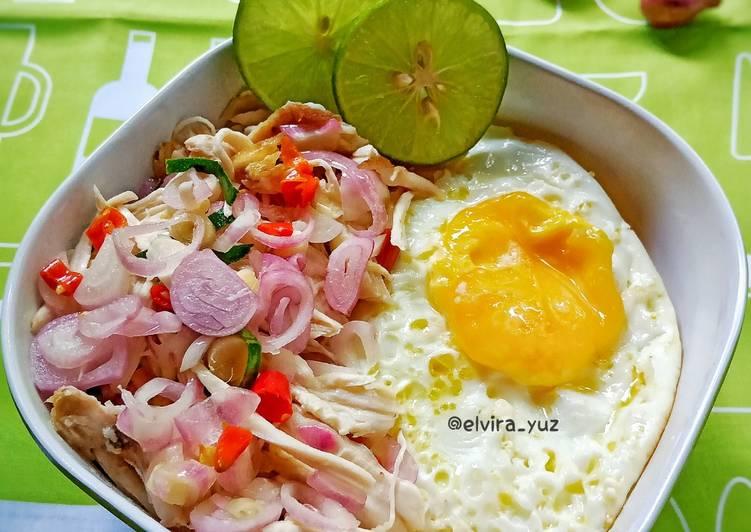 Rice Bowl Ayam Suwir Sambal Matah