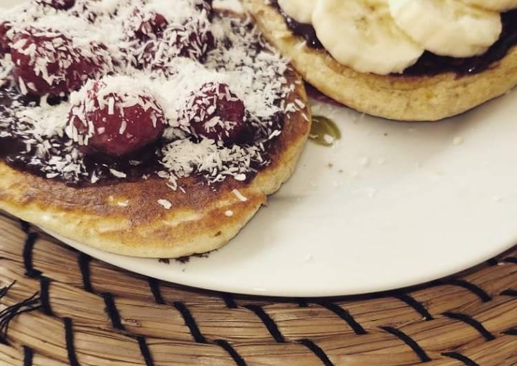Recette Appétissante Pancakes heathly