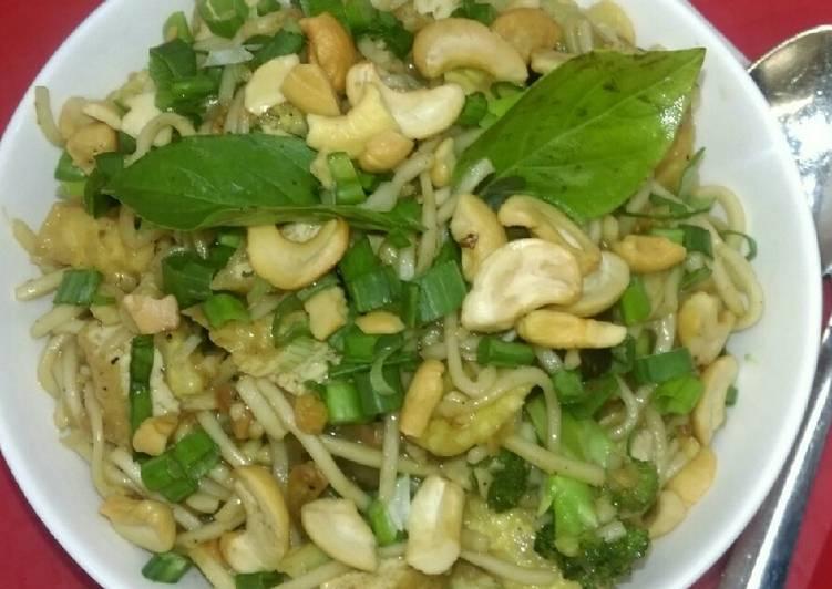 Veg and Tofu Noodles