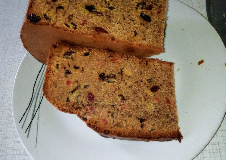 Recipe of Any-night-of-the-week Non alcoholic fruit cake #Bakingcontest