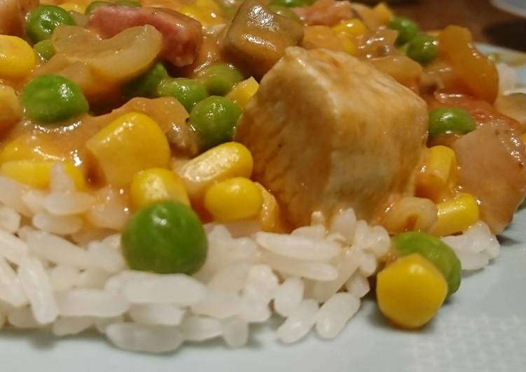 Recipe of Quick Chicken Fricassee
