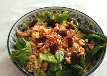 How to Cook Tasty Brown rice and tuna salad