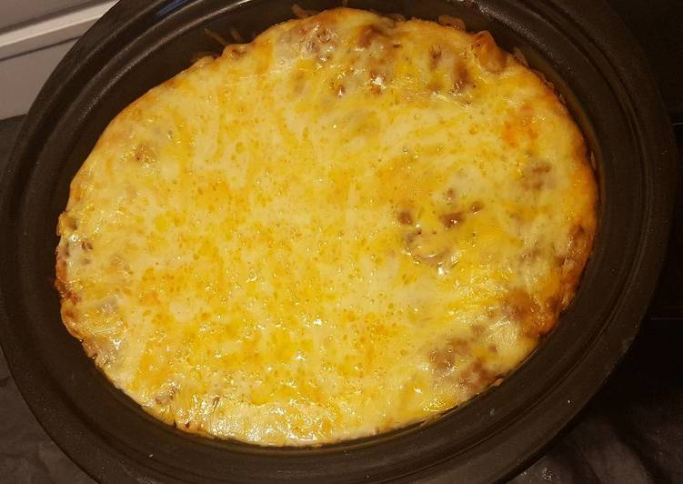 Sharon's Slow Cooker Baked Ziti