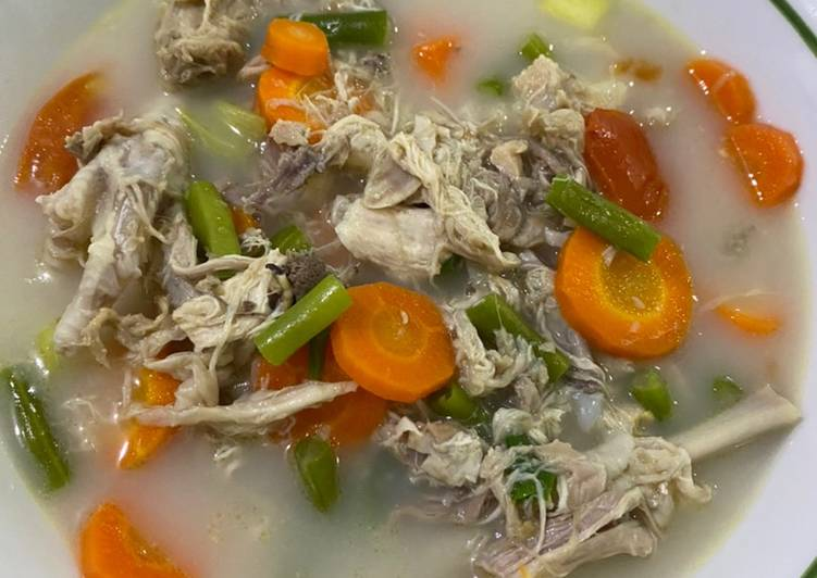 Soto Ayam khas Mamgin