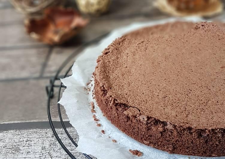 Recette Savoureux Gâteau à l'huile d'olive et au cacao