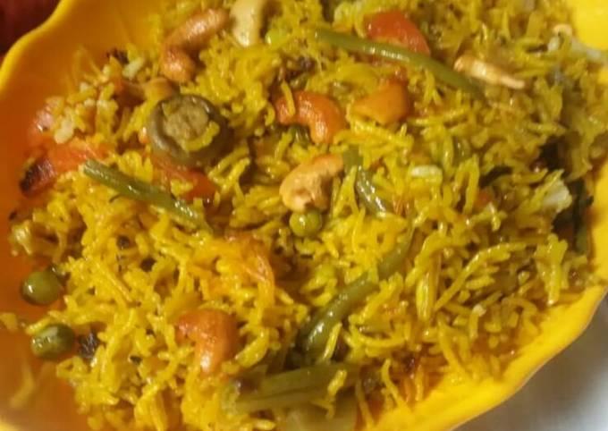 Recipe of Homemade Veg pulao