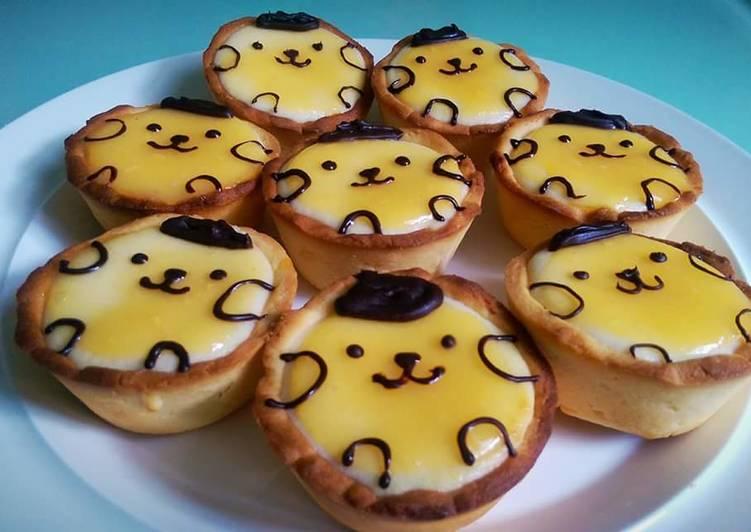 Lemon cheese tart