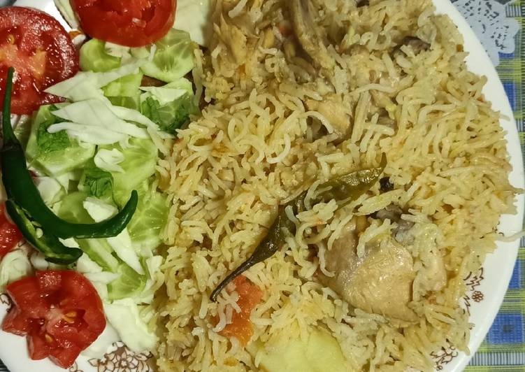 Step-by-Step Guide to Start Self Chicken yakhni pulao