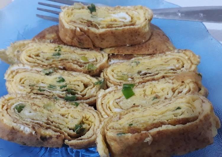 Telur gulung ala korea - cookandrecipe.com