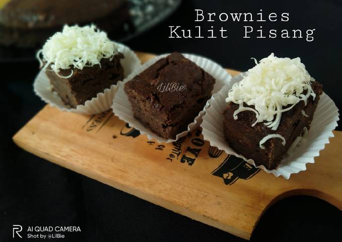 Brownies Kulit Pisang