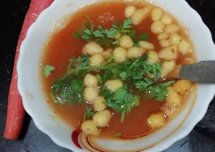 Besan Masala Soup