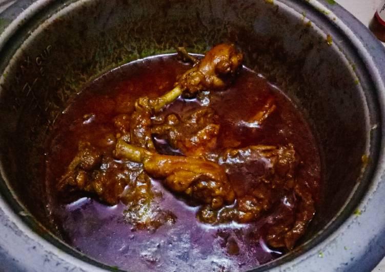 One pot Dehati Chicken Curry