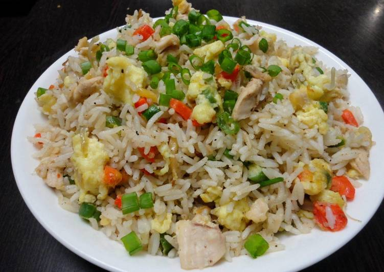 Instant Chinese Chicken Fried Rice