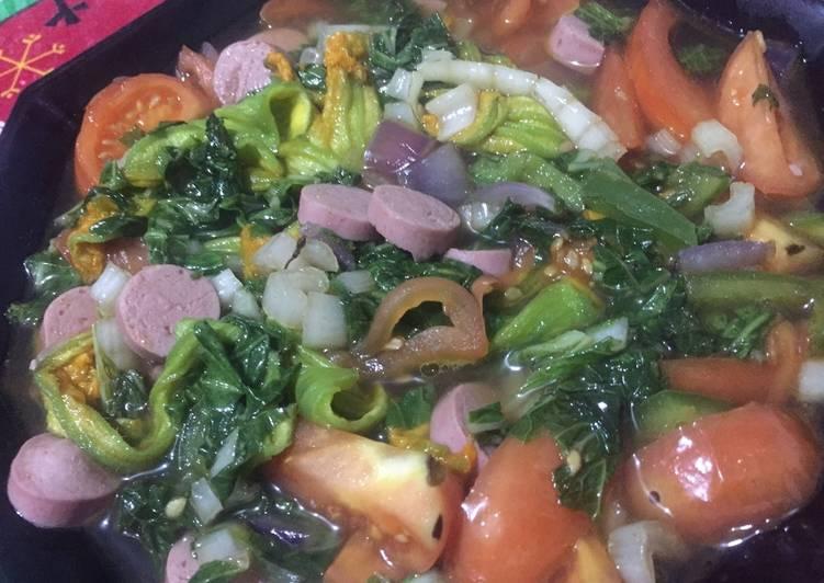Sauté mix vegetables