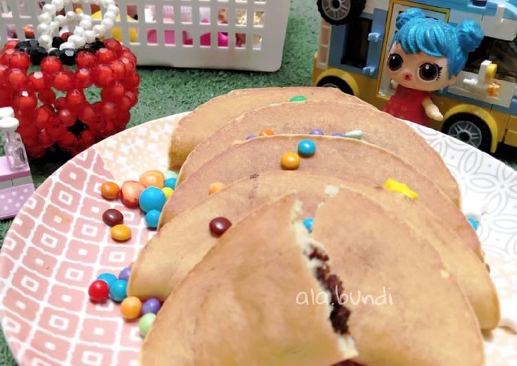 Ide bekal anak martabak pancake