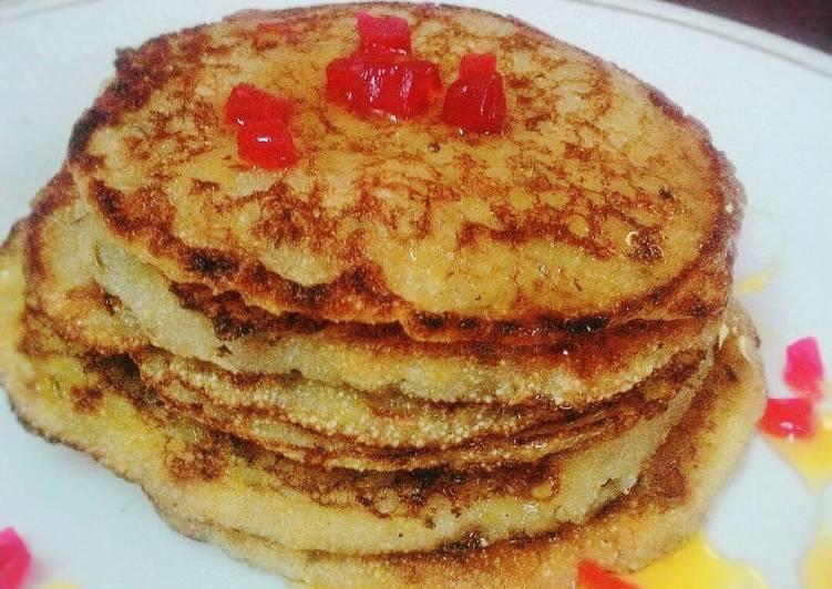 Banana Pancake (eggless)