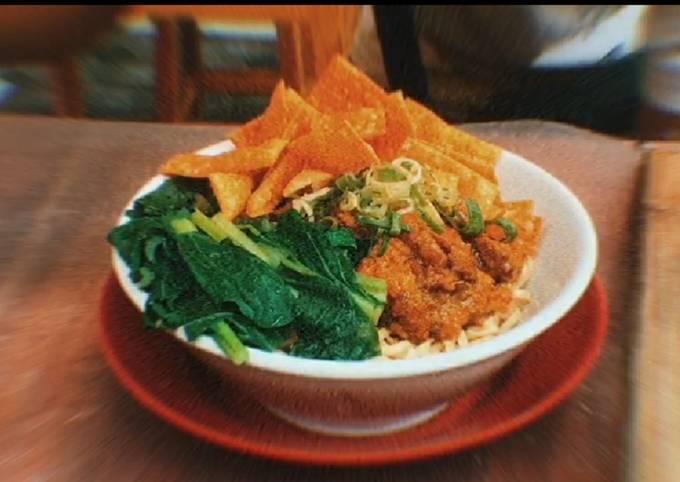 Resep Mie Ayam Wonogori Buat Jualan yang enak dan Mudah Dibuat