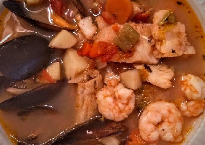 Erin's Easy Bouillabaisse/Fisherman's Stew