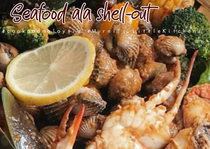 Seafood ala shell-out