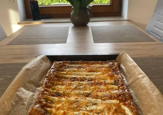Easiest Way to Prepare Gordon Ramsay White asparagus tart