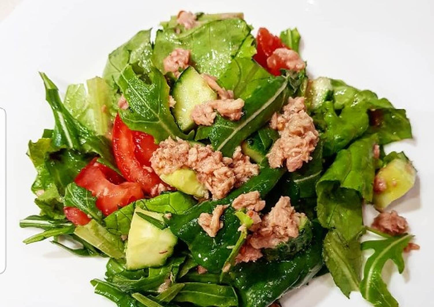 тунец салатный в масле рецепты с фото учёбой работал