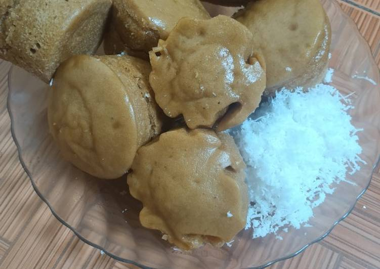 Apam tepung beras gula merah - cookandrecipe.com