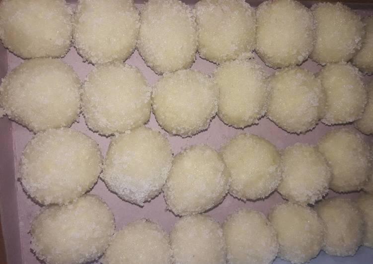 Recipe of Quick Khoya ke Homemade Ladoo