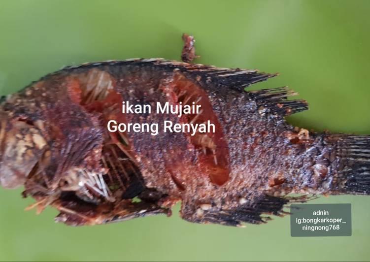 Ikan Mujair goreng renyah