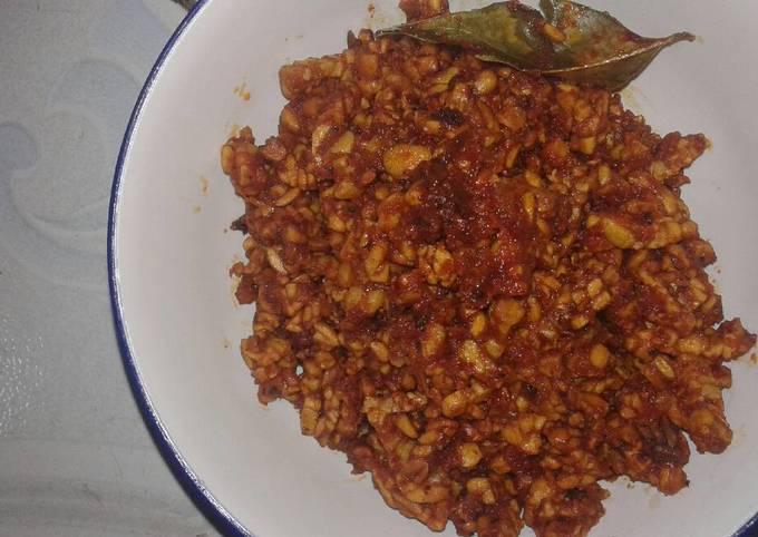 sambal goreng tempe kering ala aku - resepenakbgt.com