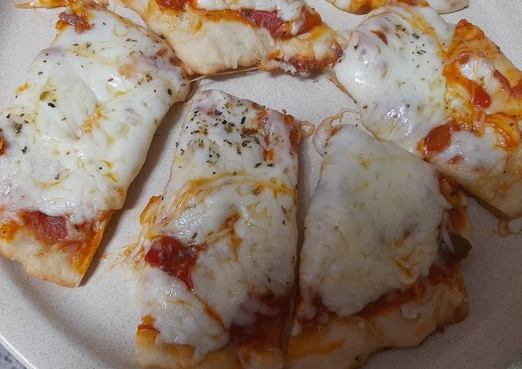 Pizza con muzarella a la uruguaya😉😋