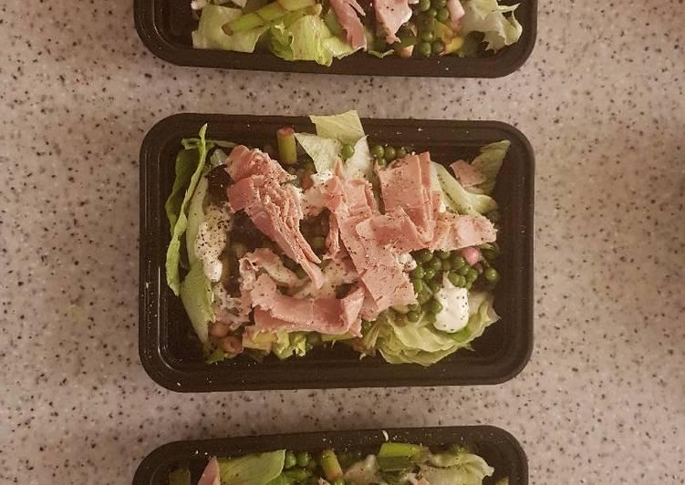 Easiest Way to Prepare Ultimate Pea and Ham Salad