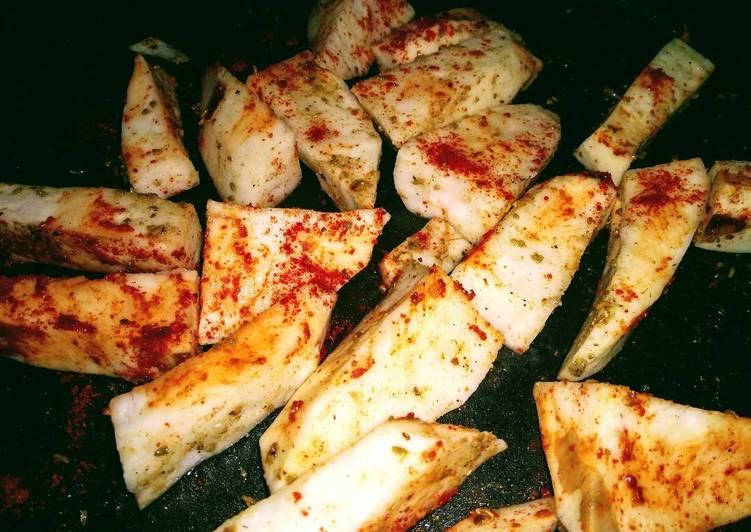 Recipe: Appetizing Grilled sweet potato
